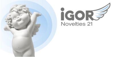 IGOR Neuheiten 2021.1